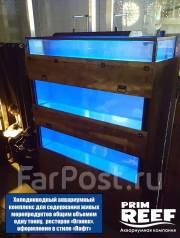 Аквариум для торговли живыми морепродуктами в аренду или на заказ