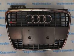 Решетка радиатора. Audi A4, 8EC, 8ED, 8HE Audi S4, 8EC, 8ED, 8HE Двигатели: ALT, ALZ, ASB, AUK, AWA, BBJ, BBK, BCZ, BDG, BFB, BGB, BHF, BKE, BKH, BKN...