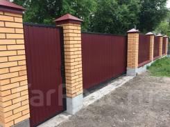 Установка Заборов Ворот монтаж строительство заборы ворота