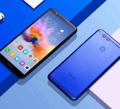 Huawei Honor 7X. Новый, 64 Гб, Золотой, Красный, Синий, Черный, 3G, 4G LTE, Dual-SIM