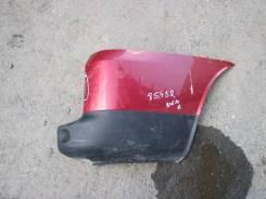 Бампер задний - правая часть FIAT DOBLO (05-)