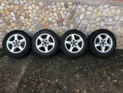 """Продам комплект колес 215/60/16 на литье зима. 6.5x16"""" 5x114.30 ET35 ЦО 58,0мм."""