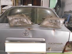 Крепление фары. Toyota Corsa, EL51, EL53, EL55, NL50 Toyota Tercel, EL50, EL51, EL53, EL55, NL50 Двигатели: 1NT, 4EFE, 5EFE, 2E