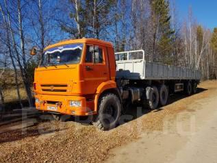 КамАЗ. Продаю машину Камаз сидельный тягач с прицепом МАЗ в отличном состояни, 6x6