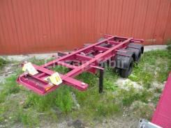 Чмзап. Новый полуприцеп контейнеровоз на пневмо из наличия, 24 000кг.