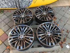 "Хромированные диски Rays stratagia R20 - на Lexus RX, Nissan Murano. 8.5x20"", 5x114.30, ET38, ЦО 73,1мм."