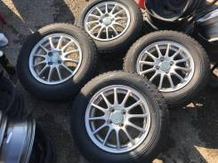 "Eco Forme R14 4*100 5.5j ET45 + 175/70R14 Bridgestone Blizzak VRX Зима. 5.5x14"" 4x100.00 ET45. Под заказ"