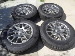"""Комплект зимних колес Dunlop 205/65R16, 5х114,3, ET36 из Японии. 6.5x16"""" 5x114.30 ET36 ЦО 64,0мм."""