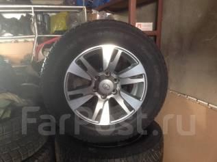 """Комплект колёс для прадо150. 7.5x18"""" 6x139.70 ET25 ЦО 106,1мм."""
