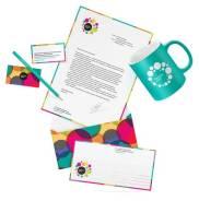 Разработка фирменного стиля, логотипа, дизайна визиток и сувениров