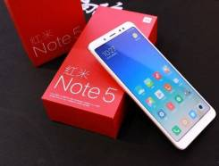 Xiaomi Redmi Note 5. Новый, 64 Гб, 3G, 4G LTE
