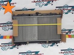 Радиатор охлаждения двигателя. Nissan: Wingroad, Bluebird Sylphy, Sylphy, Primera, AD, Almera, Sunny, Pulsar Mazda Familia, BJ3P, BJ5P, BJ5W, BJ8W, BJ...