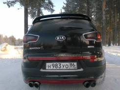 Порог пластиковый. Kia Sportage, SL Двигатели: D4FD, D4HA, G4FD, G4KD, G4KE, G4KH, G4NU. Под заказ
