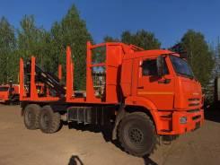 Велмаш VM10L74. Сортиментовоз на шасси 43118 , 12 600кг., 6x6