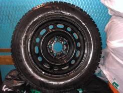 Bridgestone. Зимние, шипованные, 2014 год, 60%, 4 шт