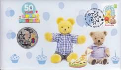 Австралия 50 центов 2016 50 Years of Play School. Медведь