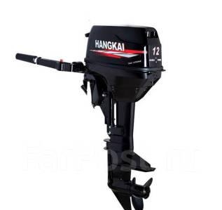 Hangkai. 12,00л.с., 2-тактный, бензиновый, нога S (381 мм), 2018 год год