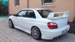 Накладки на задний бампер Subaru Impreza WRX STI GDA GDB 06-07г. v9 Chargespeed