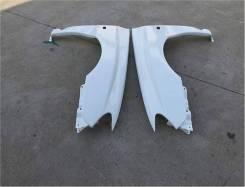 Передние крылья Subaru Impreza WRX STI GDB GDA 06-07г. V9 +25мм