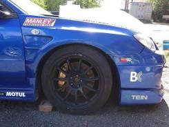 Передние крылья Subaru Impreza WRX STI GDB GDA 06-07г. V9 Chargespeed