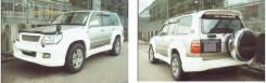Решетка радиатора Toyota Land Cruiser 100 Z-Style
