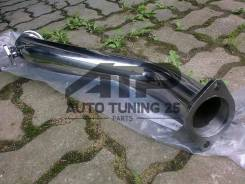 Даунпайп Toyota 1JZ-GTE, 2JZ-GTE for GT35 GT30 V-Band 76мм