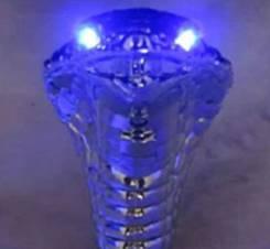 Ручка мкпп универсальная - Змея (Синяя подсветка)