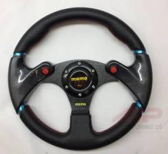 Руль MOMO carbon style с кнопками