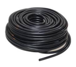 Шланг вакуумный силиконовый черный 3*8мм
