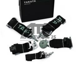 Спортивные ремни безопасности Takata 5 точек - Черный