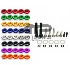 Шайбы декоративные Password JDM клапанной крышки(разные цвета)