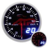 Датчик Depo Racing - 60mm черный EGT температура выхлопных газов