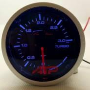 Датчик Depo Racing - 52mm черный Boost Механический 3.0 bar