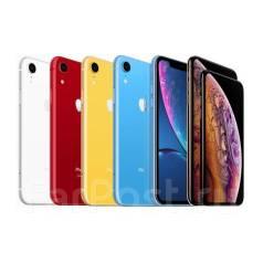 Apple iPhone Xr. Новый, 256 Гб и больше, Белый, Желтый, Красный, Оранжевый, Синий, Черный, 3G, 4G LTE, Dual-SIM, Защищенный