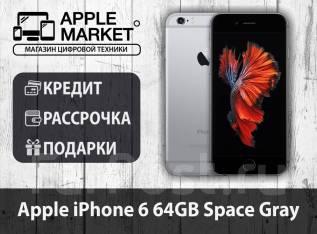 Apple iPhone 6. Б/у, 64 Гб, Черный, 3G, 4G LTE
