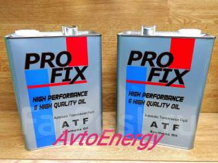 Pro Fix. Вязкость ATF, синтетическое