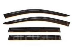 Комплект новых ветровиков Toyota Caldina 96-00 черные