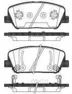 Колодки Тормозные Hyundai/Kia Genesis/Ceed/Optima 08- Перед. Remsa арт. 139802