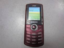 Samsung E2232. Б/у, Красный, Dual-SIM, Кнопочный