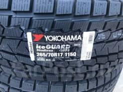 Yokohama Ice Guard G075. Зимние, без шипов, 2018 год, без износа, 4 шт