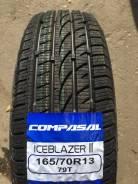 Compasal Ice Blazer II. Зимние, без шипов, 2018 год, без износа, 4 шт