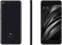 Xiaomi Mi6. Новый, 128 Гб, Черный, 4G LTE