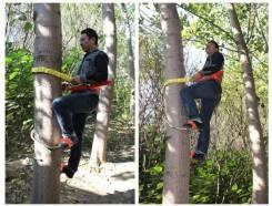 Охотникам и сборщикам орехов. Педали для лазанья по деревьям.
