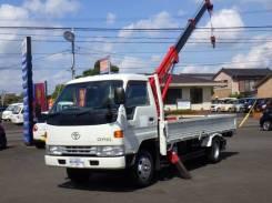 Toyota Dyna. Продам Toyota DUNA KC-BU147 бортовой с манипулятором!, 4 100куб. см., 3 000кг., 4x2. Под заказ