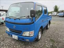 Toyota Dyna. Продам Toyota DUNA KG-LY270двухкабинный бортовой грузовичек!, 3 000куб. см., 1 500кг., 4x2. Под заказ