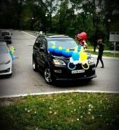 Украшение авто. Воздушные шары. Выписка из роддома. Роспись авто.