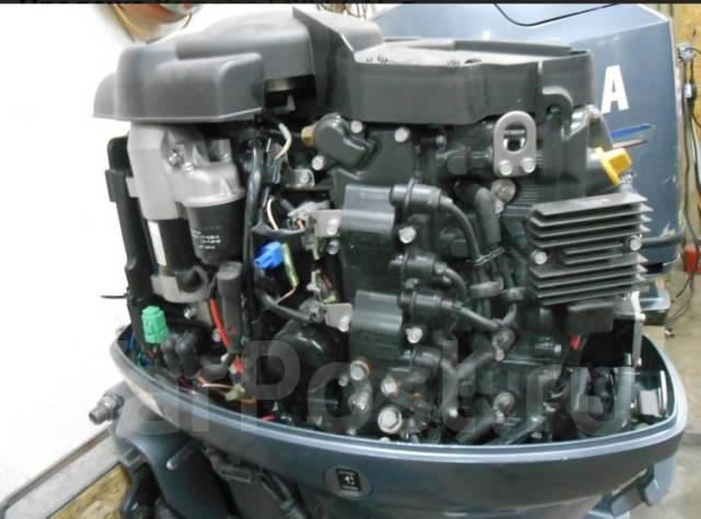 Yamaha. 60,00л.с., 4-тактный, бензиновый, нога L (508 мм), 2012 год год