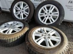 """Оригинальные диски Toyota на шинах Bridgestone 205/65R16. 7.0x16"""" 5x114.30"""