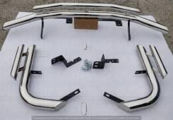 Защита бампера. Toyota Land Cruiser Prado, GDJ150, GDJ150L, GDJ150W, GRJ150, GRJ150L, GRJ150W, KDJ150, KDJ150L, LJ150, TRJ150, TRJ150L, TRJ150W