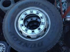 Dunlop Ecorut, 275/80/R22.5. всесезонные, 2012 год, б/у, износ 20%
